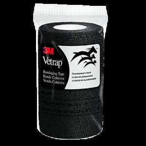 3M Vetrap Self-Adherent Bandaging Tape – Black