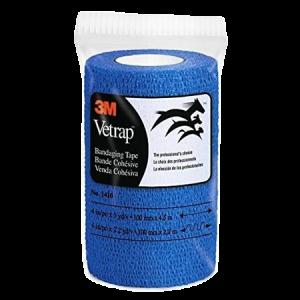 3M Vetrap Self-Adherent Bandaging Tape – Blue