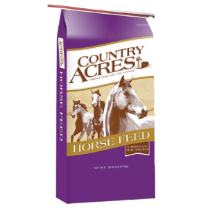 Purina Country Acres Horse 12% Pellet High Fat