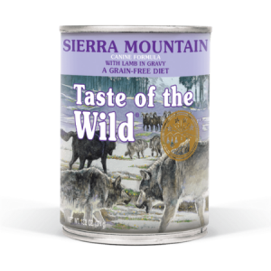 Taste of the Wild Sierra Mountain Canine Formula with Lamb in Gravy, 13.2-oz