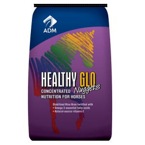 ADM Healthy Glo Nuggets Concentrated Nutrition Horse Feed