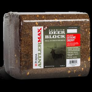 Purina AntlerMax Deer Block