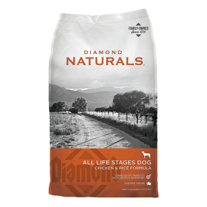 Diamond Naturals Chicken and Rice Formula All Life Stages Dry Dog Food
