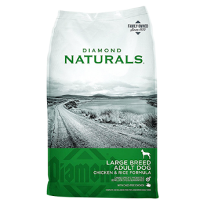 Diamond Naturals Large Breed Adult Chicken & Rice Dog Food