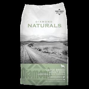 Diamond Naturals Large Breed Adult Lamb Meal & Rice Formula Dry Dog Food