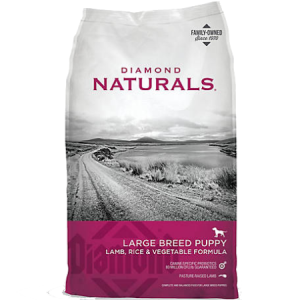 Diamond Naturals Large Breed Puppy Lamb & Rice