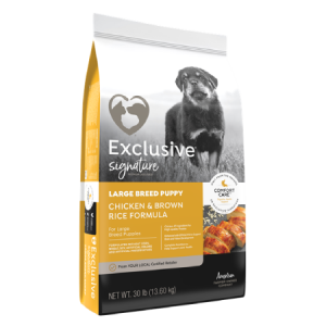 Exclusive Signature Large Breed Puppy Food