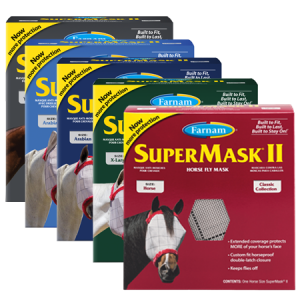 Farnam SuperMask II Horse Fly Mask Classic Collection Horse