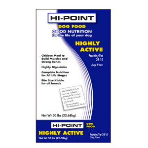 Hi-Point Highly Active Formula Dry Dog Food