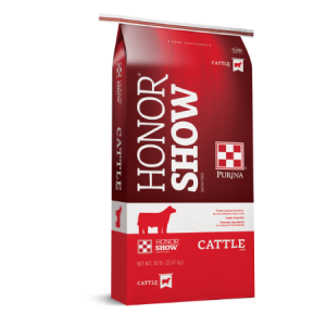 Purina Honor Show Chow Fitters Edge Cattle Feed