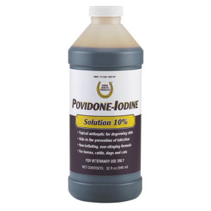 Horse Health Povidone-Iodine 10% Solution
