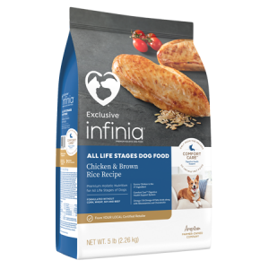 Infinia All Life Stages Dog Food Chicken & Brown Rice Recipe
