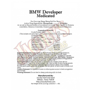 Jacoby BMW Medicated Sheep Developer