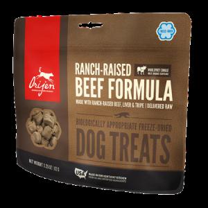 ORIJEN Ranch Raised Beef Freeze-Dried Dog Treats