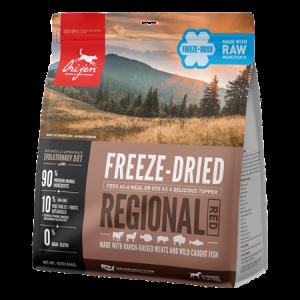 ORIJEN Regional Red Freeze Dried Dog Food