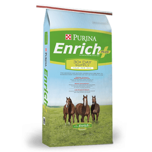 Purina Enrich Plus Ration Balancing Horse Feed