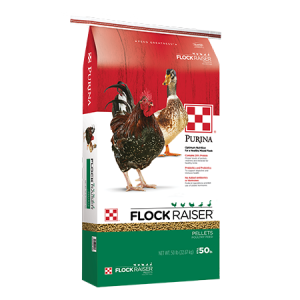 Purina Flock Raiser Pellets