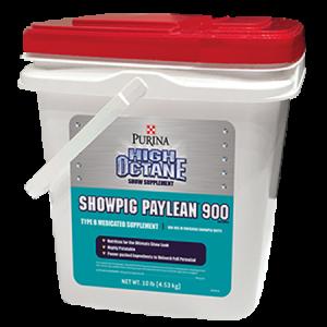 Purina High Octane Showpig Paylean 900 Medicated Supplement