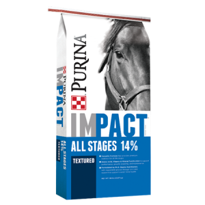 Purina Impact All Stages 14% Textured Horse Feed