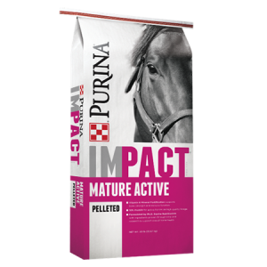 Purina Impact Mature Active Pelleted Horse Feed