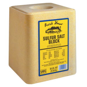 Ranch House Sulfur Salt Block