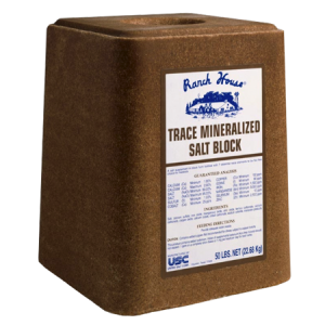 Ranch House Trace Mineralized Salt Block