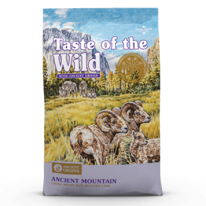 Taste of the Wild Ancient Mountain Canine Recipe Dry Dog Food with Roasted Lamb