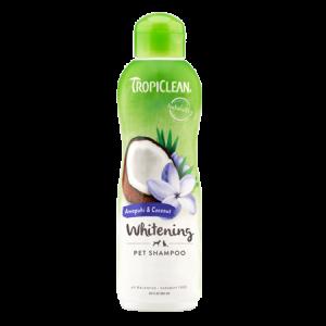TropiClean Whitening Awapuhi & Coconut Pet Shampoo