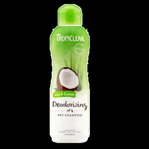 TropiClean Deodorizing Aloe & Coconut Dog & Cat Shampoo