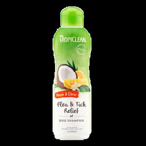 TropiClean Neem & Citrus Flea & Tick Relief Dog Shampoo