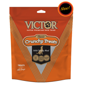 Victor Crunchy Dog Treats with Turkey Meal