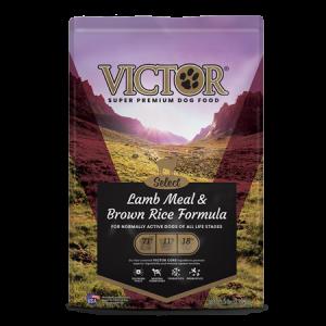 Victor Grain Free Select Lamb Meal & Brown Rice Formula Dry Dog Food