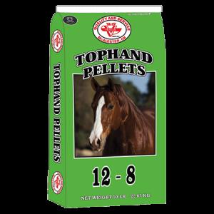 Big V Tophand 12-8 Horse Pellets