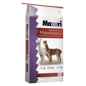 Mazuri Alpaca & Llama Maintenance Diet 561J