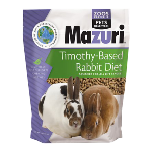 Mazuri Rabbit Diet with Timothy Hay 5M15