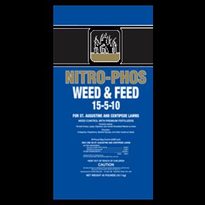 Nitro-Phos St. Augustine Weed & Feed with Atrazine 15-5-10