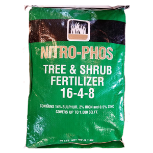 Nitro-Phos Tree & Shrub Fertilizer 16-4-8