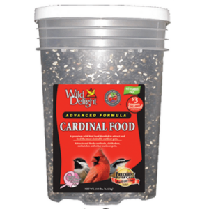 Wild Delight Advanced Formula Cardinal Food Pail