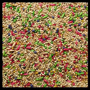 Brooks Grains Plus Parakeet Blend Bird Seed