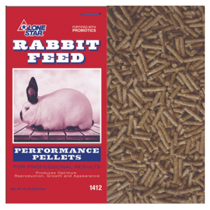 Lone Star 18% Performance Rabbit Pellets