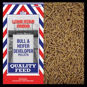 Lone Star Bull & Heifer Developer Pellets