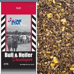 Lone Star Bull & Heifer Developer Pellets (Medicated)