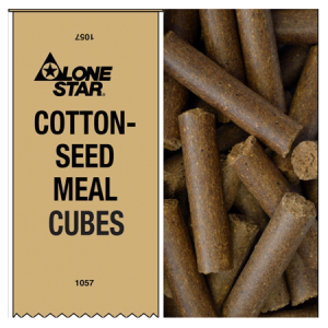 Lone Star Cottonseed Meal Cubes
