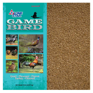 Lone Star Game Bird Starter-Grower Crumbles