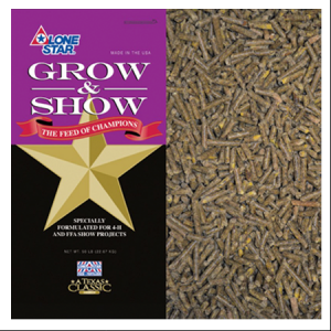 Lone Star Goat Grow & Show (Medicated)
