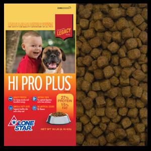 Lone Star Hi Pro Plus Dry Dog Food
