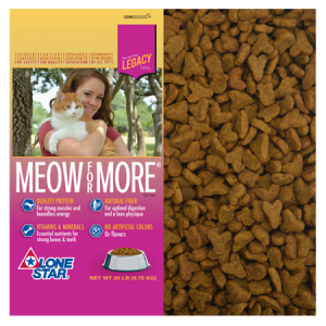 Lone Star Meow For More Dry Cat Food
