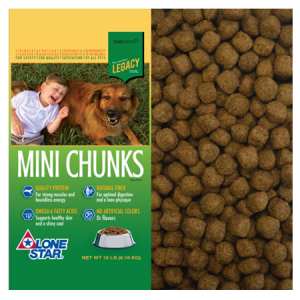 Lone Star Mini Chunks Dry Dog Food