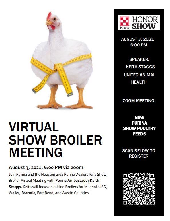 Virtual Show Broiler Meeting